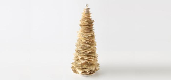 Офисная елка из бумаги