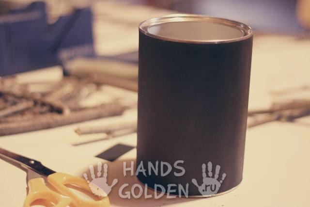 Как сделать оригинальную вазу из веток своими руками