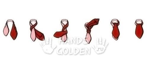 Как завязать галстук - аскот (шейный мужской платок)