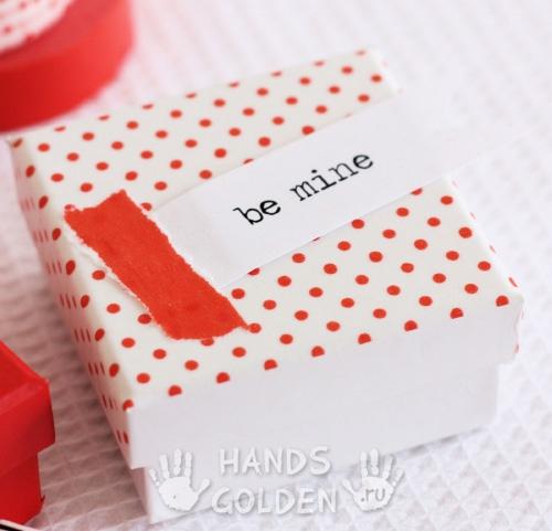 Коробка для мужского подарка 88