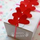 Как упаковать подарок на день влюбленных
