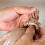 Как развязать узел на пакете