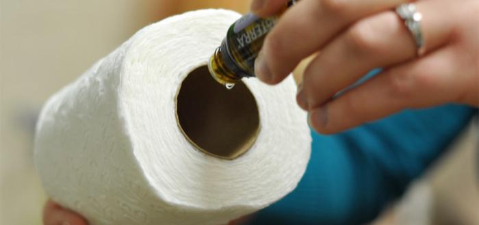 Как сделать ароматизатор из туалетной бумаги