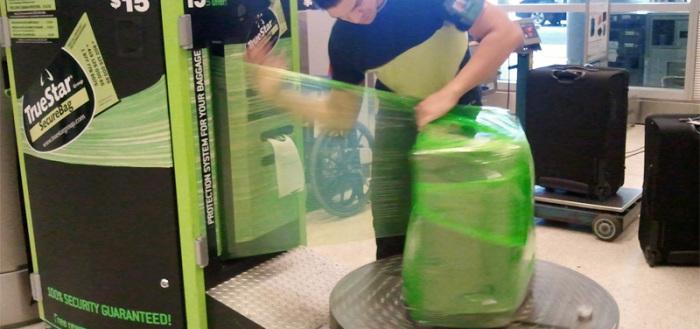 Как бесплатно упаковать багаж